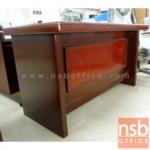 A06A013:โต๊ะทำงานตัวแอล Rette 140W*69D cm (2 ชิ้น พร้อมตู้ข้างล้อเลื่อน)
