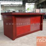 A06A065:โต๊ะบริหารตัวเดี่ยว 160W cm. รุ่น GST-RIGHT ( 3 ลิ้นชักข้าง 1 บานเปิด พร้อมรางคีย์บอร์ด)