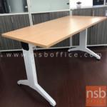A30A026:โต๊ะผู้บริหาร  รุ่น J-G769 ขนาด 160W cm. ขาตัววาย