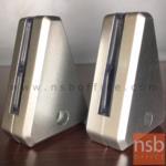 J01A018:ตัวหนีบ miniscreen แบบเจาะ รุ่น FERRARI (เฟอรารี่)  ทรงสามเหลี่ยมใหญ่พิเศษ (ตัวละ)