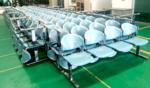 เก้าอี้นั่งคอยเฟรมโพลี่ รุ่น B880 2 ,3 ,4 ที่นั่ง ขนาด 100W ,150W ,200W cm. ขาเหล็ก