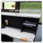 A11A025:ชั้นเคาน์เตอร์เสริมต่อบนโต๊ะ รุ่น NSB-VC 120W ,135W ,150W ,165W ,180W cm.  พร้อมช่องอเนกประสงค์ เมลามีน