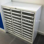 ตู้เหล็กเก็บเอกสาร 30 ลิ้นชักใหญ่ (เก็บแบบฟอร์มแยกประเภท) 88W*40.7D*88H cm. รุ่น SD-302