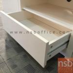 ตู้วางทีวีผิวไฮกรอส 1 ลิ้นชัก 2 บานเปิด  รุ่น Ber (เบอ) ขนาด 160W*47H cm.