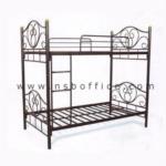 G12A174:เตียงเหล็ก 2 ชั้น ขนาด 3.5 ฟุต รุ่น LT