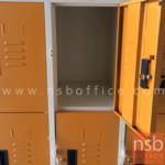 ตู้ล็อกเกอร์เหล็กเตี้ย 9 ประตู รุ่น Handel (แฮนเดิล)   ขนาด 91.2W*45.7D*140H cm.