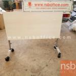 L01A062:โต๊ะพับ สีขาว ขนาด120*60*75  มี1ตัว
