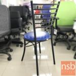เก้าอี้โมเดิร์นหนังเทียม รุ่น NSB-CHAIR14 ขนาด 38Di*87H cm. (STOCK-1 ตัว)