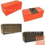 B22A075:โซฟาสตูลเดี่ยวหุ้มหนังPVC เก็บของได้ S-TSF70