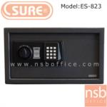 F03A018:ตู้เซฟดิจตอล SR-ES823 น้ำหนัก 9.5 กก. (1 รหัสกด / ปุ่มหมุนบิด)