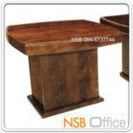 B13A147:โต๊ะกลางไม้ตีโครง HI-GLOSS รุ่น BC-CFF-2S ขนาด 60W*60D*47H cm.