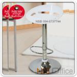 B09A127:เก้าอี้บาร์โครงเหล็กเบาะไฟเบอร์ รุ่น BC-CB-003 โช๊คไฮโดรลิค