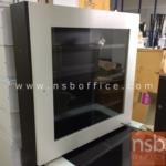 G15A017:ตู้ยาสามัญประจำบ้าน  รุ่น T401 หน้าบานสีขาว-โอ๊ค