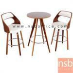 B09A171:ชุดโต๊ะเก้าอี้ไม้ รุ่น TNP-N2701BNP-C7302