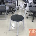 L02A293:เก้าอี้โมเดิร์นหนังเทียม รุ่น NSB-CHAIR8 พิงหลังตรงกลางลายผีเสื้อ (STOCK-1 ตัว)