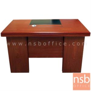 A06A144:โต๊ะผู้บริหาร รุ่น SARANSK (ซารันสค์) ขนาด 120W ,140W cm.