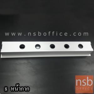 รางไฟอลูมิเนียม  รุ่น PANDA ขนาด 40W, 60W, 100W cm. (3 ,4 ,8 หน้ากาก)