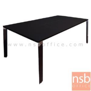 A30A013:โต๊ะผู้บริหารทรงสี่เหลี่ยม รุ่น TY-1890 ขนาด 180W cm. พร้อมปุ่มปรับระดับ ขาเหล็ก