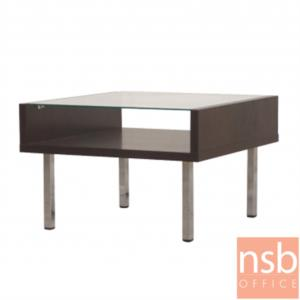 B13A246:โต๊ะกลางโซฟากระจกใส  รุ่น GD-TNY ขนาด 60W ,105W cm.  โครงไม้