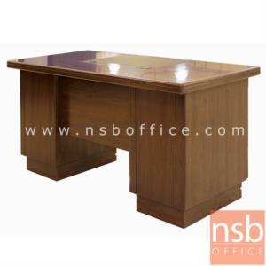 A06A062:โต๊ะผู้บริหารทรงตรง 6 ลิ้นชัก รุ่น FINISH  ขนาด 140W cm.