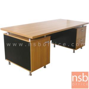 A13A010:โต๊ะผู้บริหารทรงโค้ง ขนาด 200W cm. รุ่น ITM-CAT