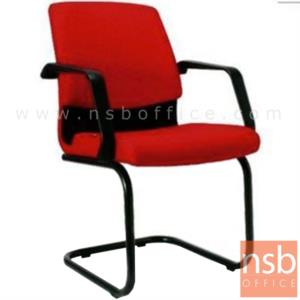 B28A044:เก้าอี้รับแขกขาตัวซี รุ่น SH-3S  ขาเหล็กพ่นดำ
