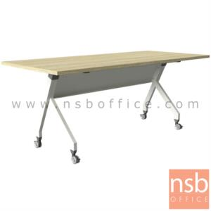 A18A097:โต๊ะประชุมพับเก็บล้อเลื่อน รุ่น THUERINGEN (ทูรินเจีย) ขนาด 160W ,180W*60D ,80D cm.