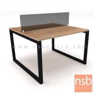 A27A040:โต๊ะทำงานกลุ่ม รุ่น Cruz (ครูส) ขนาด 120W, 240W, 360W cm. ขาเหล็ก