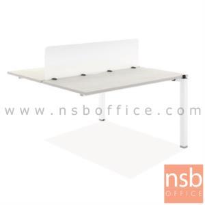 ชุดโต๊ะทำงานกลุ่ม รุ่น Baker (เบเกอร์) ขนาด 120W cm. ขาเหล็ก