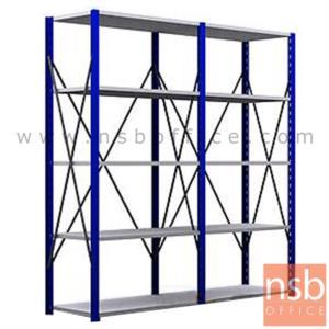 D03A011:ชั้นเหล็ก MR   5, 6 แผ่นชั้น ขนาด 120W*50D*180H ,200H ,220H ,240H cm. ชั้นปรับระดับได้ รับน้ำหนัก 150-200 KG/ชั้น