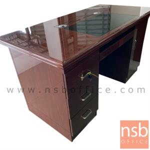 A06A139:โต๊ะผู้บริหาร รุ่น GWANGJU (กวางจู) ขนาด 140W cm. พร้อมรางคีย์บอร์ด