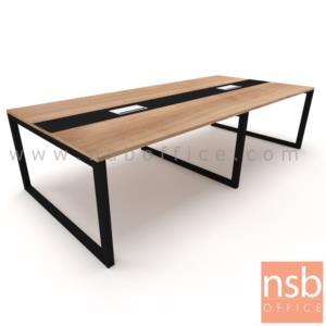 A05A215:โต๊ะประชุมทรงสี่เหลี่ยม รุ่น Lincoln (ลินคอล์น) ขนาด 300W, 360W, 400W แบบ 3 ขา