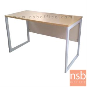 A18A037:โต๊ะทำงานทรงสี่เหลี่ยม รุ่น CV-CIVIC-2 ขนาด 80W ,120W ,135W, 150W ,160W ,180W cm. ขาเหล็กกล่องพ่นสี