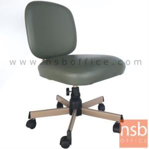 E28A082:เก้าอี้สำนักงาน รุ่น CH-400A  ขาเหล็กชุบโครเมี่ยม
