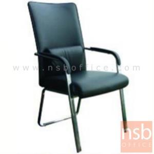 B04A177:เก้าอี้รับแขก รุ่น ID-ZM4 หุ้มหนังเทียม โครงขาเหล็ก