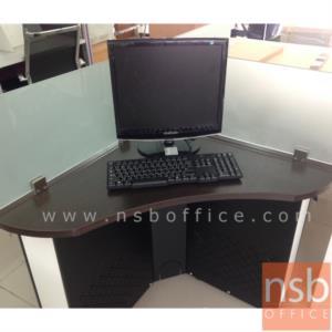 ชุดโต๊ะทำงานกลุ่ม 4 ที่นั่ง   ขนาด 150W ,180W cm. พร้อม miniscreen กระจก