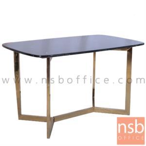 B13A278:โต๊ะกลางหินอ่อน รุ่น Providence (พรอวิเดนซ์)  ขาเหล็กทอง