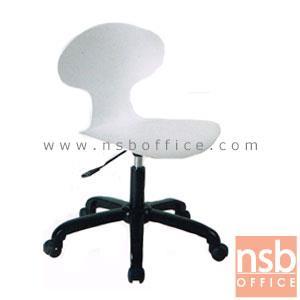 B24A164:เก้าอี้สำนักงานโพลี่ รุ่น  CVR-870  โช๊คแก๊ส ขาพลาสติก