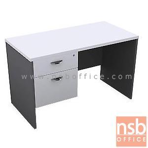 A12A002:โต๊ะทำงาน 2 ลิ้นชัก รุ่น Clayton (เคลย์ตัน) ขนาด 120W, 135W, 150W, 160W*(60D, 75D, 80D) cm.