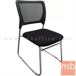 B04A179:เก้าอี้รับแขกขาตัวยู รุ่น SK-TOR  ขาเหล็กชุบโครเมี่ยม
