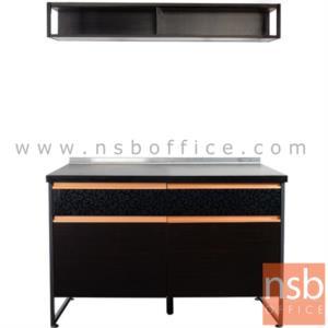 K06A006:ชุดตู้ครัว พร้อมตัวตู้แขวนผนัง รุ่น PL-SET1 120W cm.