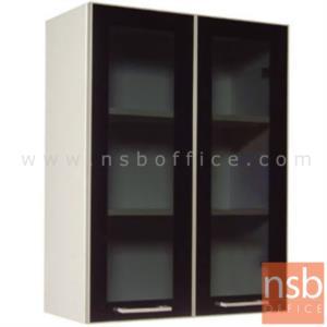 K01A018:ตู้แขวน บนบานเปิดกระจก 80H cm