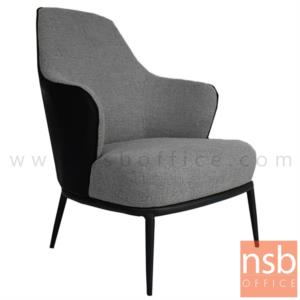 B29A371:เก้าอี้โมเดิร์นหุ้มผ้า รุ่น Roseanne (โรแซน) ขนาด 72W cm. โครงขาไม้