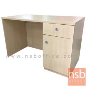 A13A185:โต๊ะทำงาน 1 ลิ้นชัก 1 บานเปิด  รุ่น VCP-SR ขนาด 120W ,135W 150W cm. บังตาชิดพื้น