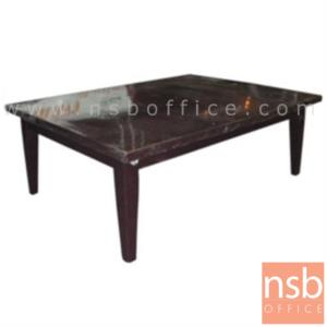 B13A143:โต๊ะอเนกประสงค์โฟเมก้าแท้   ขนาด 50W ,90W ,120W cm.  ขาไม้ สีโอ๊ค