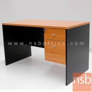 A12A002:โต๊ะทำงาน 2 ลิ้นชัก รุ่น VCP-H1 ขนาด 120W, 135W, 150W, 160W*(60D, 75D, 80D) cm.