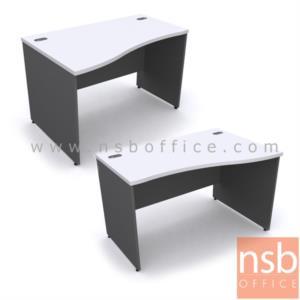 A12A037:โต๊ะทำงานโล่ง  ขนาด 120W ,135W ,150W ,165W ,180W cm.  เมลามีน