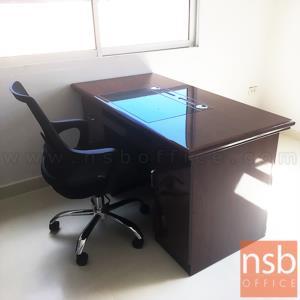 โต๊ะผู้บริหาร รุ่น GWANGJU (กวางจู) ขนาด 140W cm. พร้อมรางคีย์บอร์ด