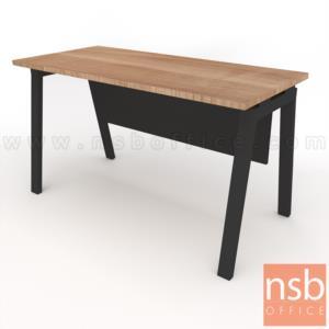 โต๊ะทำงานทรงสี่เหลี่ยม Slash-1 (สแลช-1) ขนาด 120W, 135W, 150W cm. ขาเหล็ก
