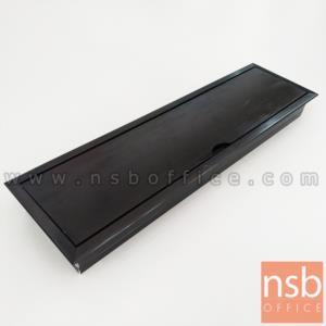 A24A054:ฝาป็อบอัพอลูมิเนียมฝังหน้าโต๊ะ รุ่น Snapdragon (สแน็ปดรากอน) ขนาด 28W cm.